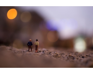 This is a piece of work from the series 'Tiny People' that I created in the first major photography project in Term 1
