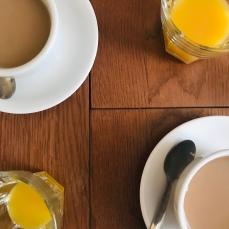 B&B, tea for two